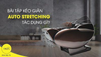 Bài tập kéo giãn cơ thể trên ghế massage tác dụng thế nào?