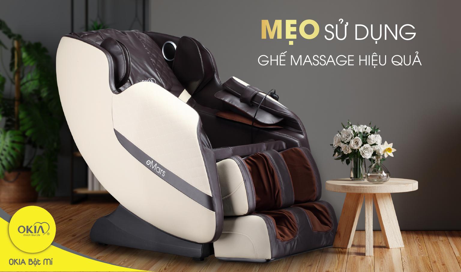 Mẹo sử dụng ghế massage0